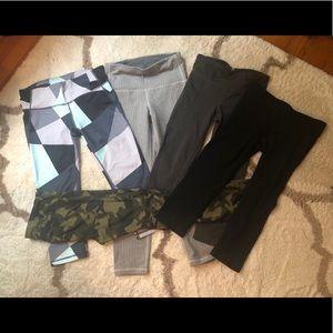 Gap fit leggings - selling 5 pair together